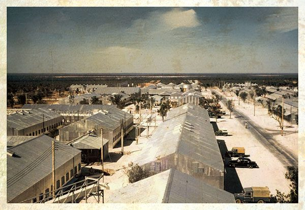 Maralinga Village in 1956 - Maralinga Tours campsite