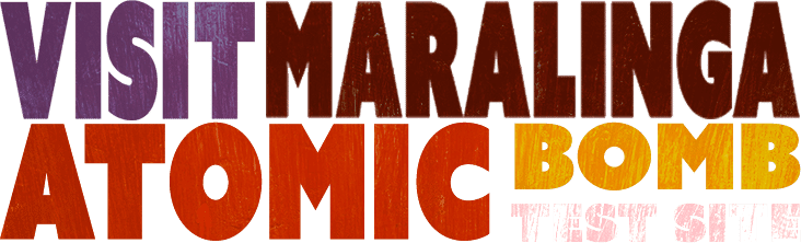 Maralinga Tours Welcome Splash Image