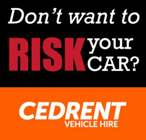 Cedrent vehicle rental ad