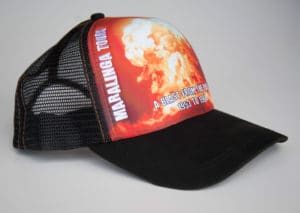 Maralinga Tours Cap, Side-on