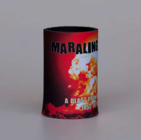 Maralinga Tours Stubbie Holder, side 1