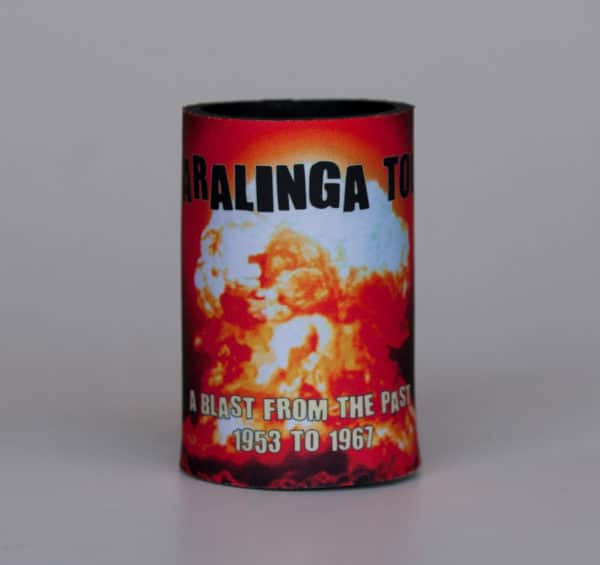 Maralinga Tours Stubbie Holder, side 2